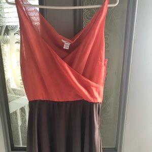 Bar III tee length dress